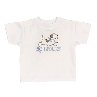 Bailey Boys  Big Brother Shirt White knit 200-BB
