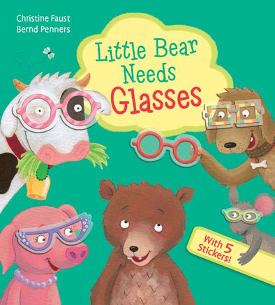 EDC Little Bear Needs Glasses