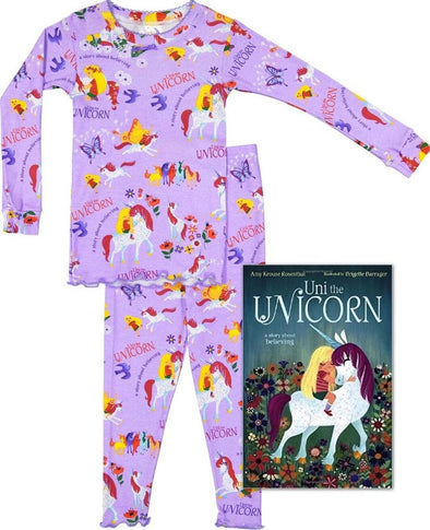 Books To Bed Uni The Unicorn PJ & Book Set 15UNIJ