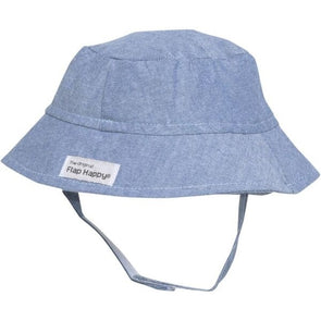 Flap Happy Chambray Bucket Hat CHTA