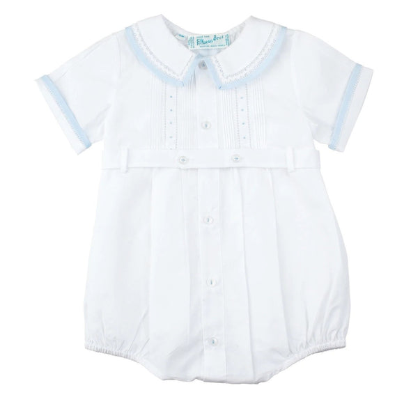 Feltman Brothers  White/Blue Creeper & Shortall 23908F