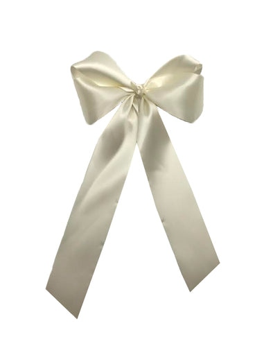 Carolyn XL Satin Bow w/ Tails (Multiply Colors)