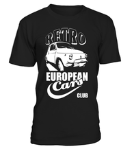 "T-shirt ""Fiat 500"" Vintage European Cars"