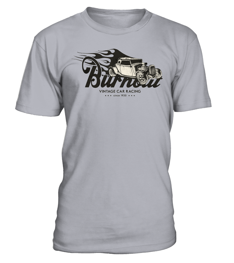 T-shirt Burnout Hot Rod