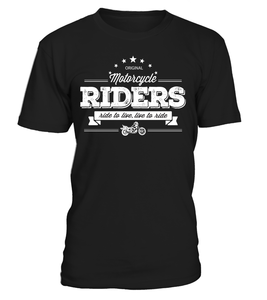T-shirt Ride to live, live to ride