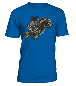 T-shirt California Hot Rod