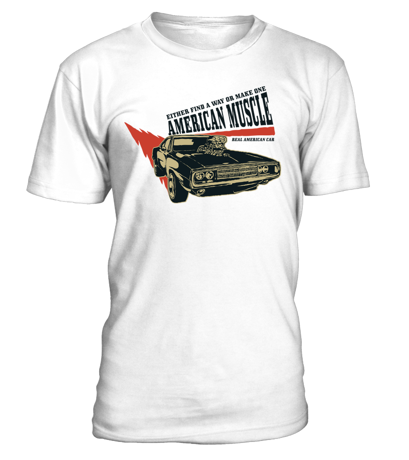 T-shirt American Muscle Way