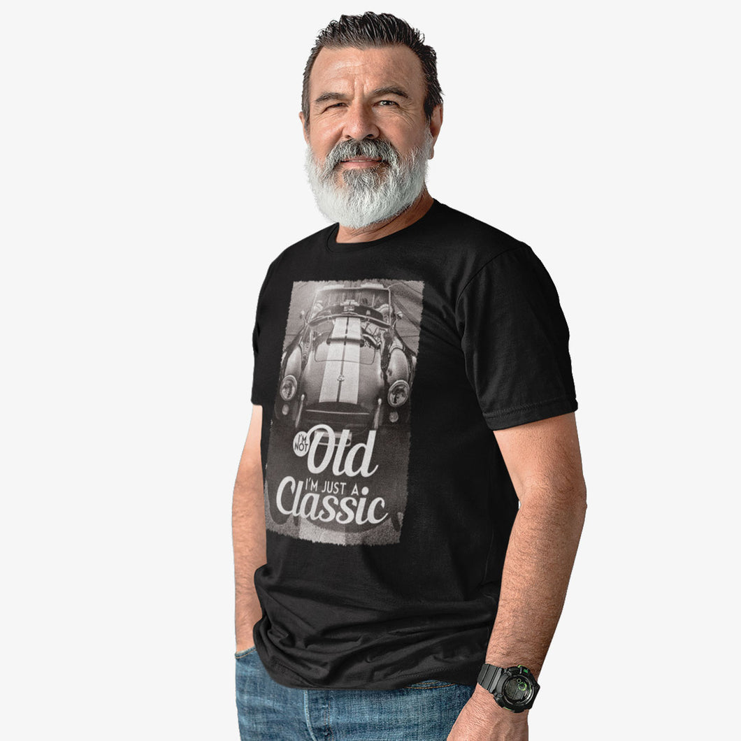 T-shirt I'm not old, I'm just a classic AC Cobra