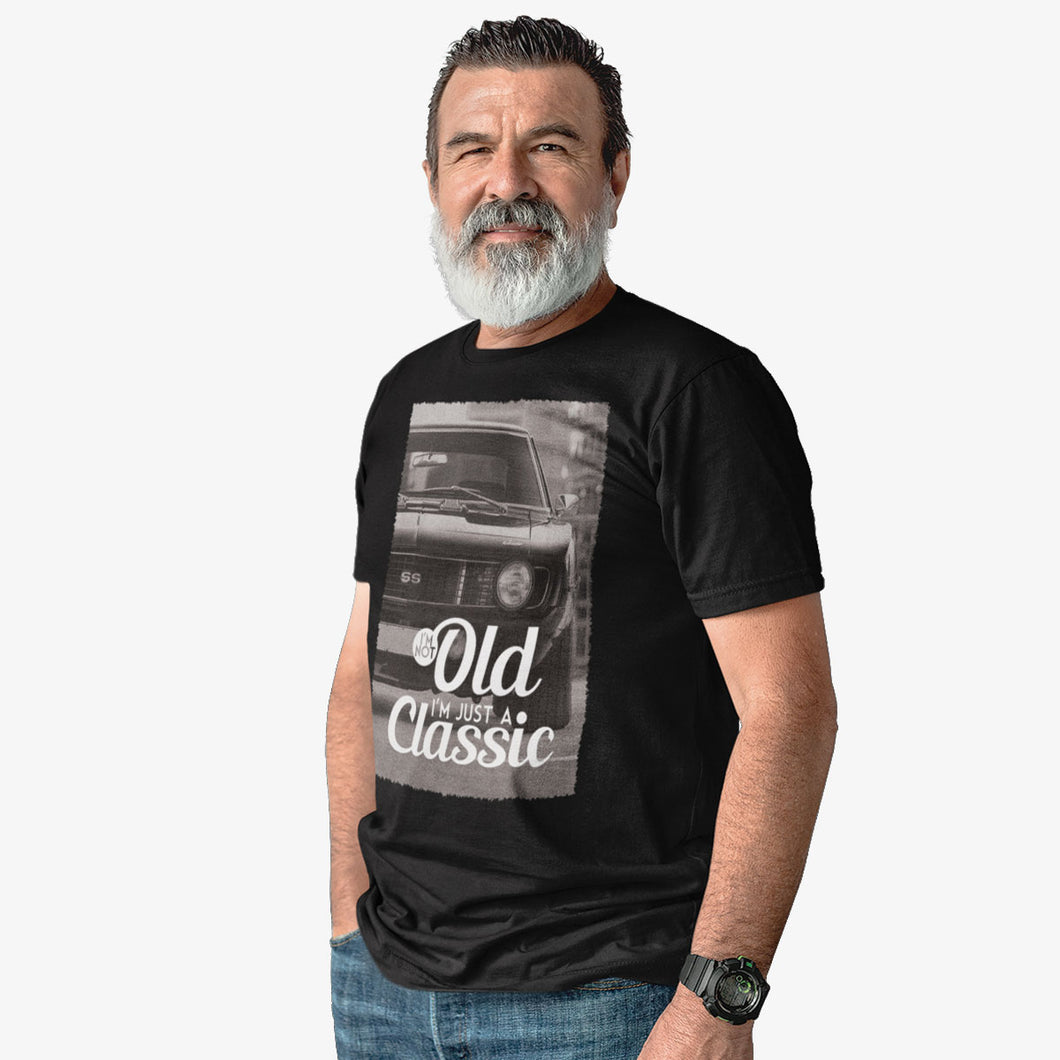 T-shirt I'm not old, I'm just a classic Camaro SS
