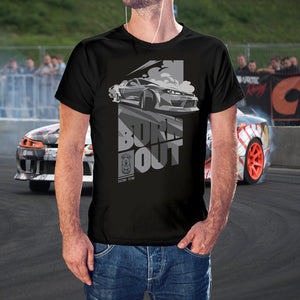 T-shirt Burnout and Drift