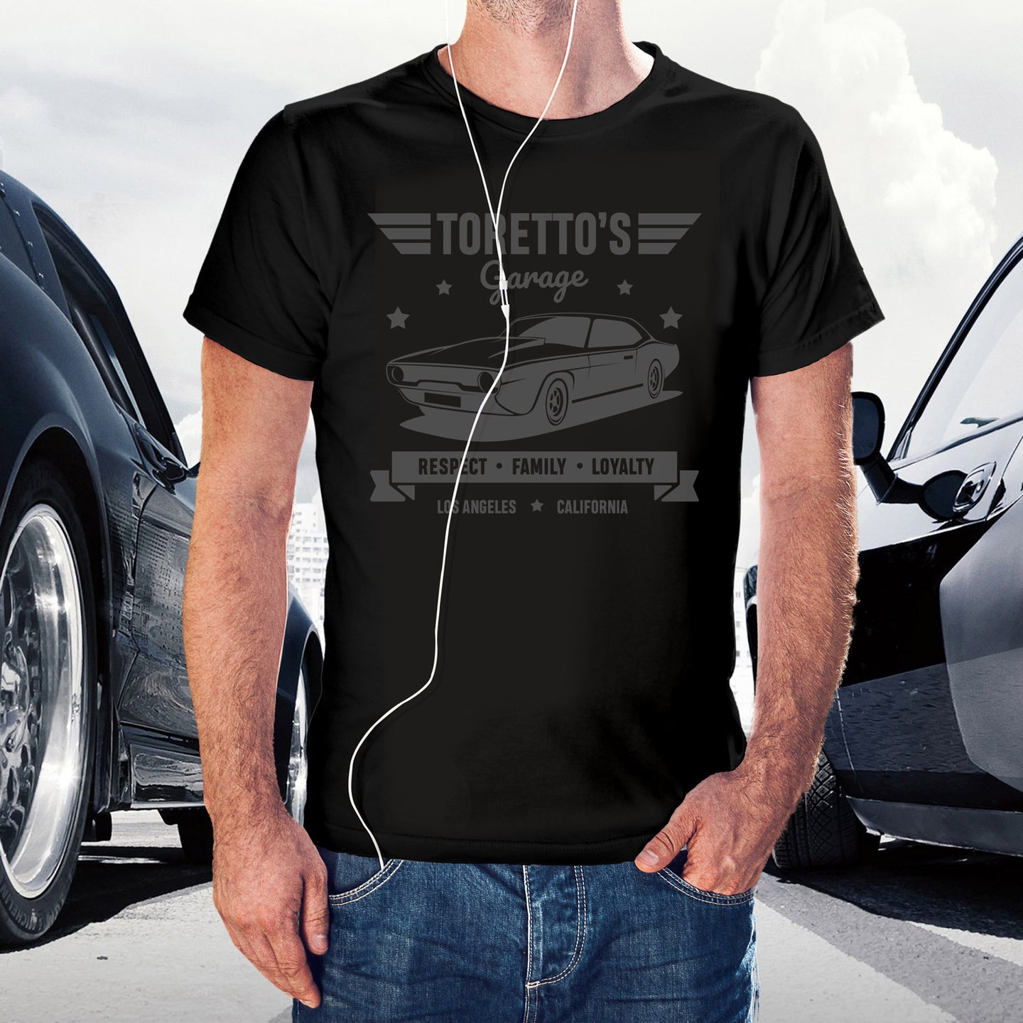 T-shirt Toretto's Garage
