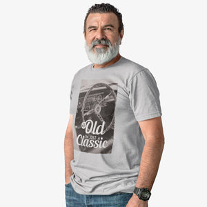 T-shirt I'm not old, I'm just a classic Volant Mustang