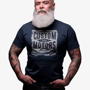 T-shirt Custom Motors USA