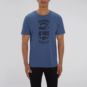 T-shirt USA Riders Detroit 86