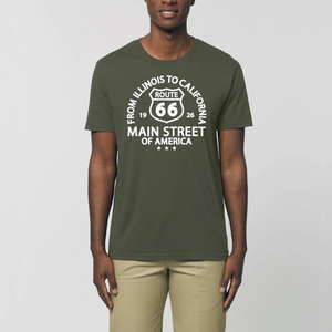 T-shirt Route 66 Main Street of America