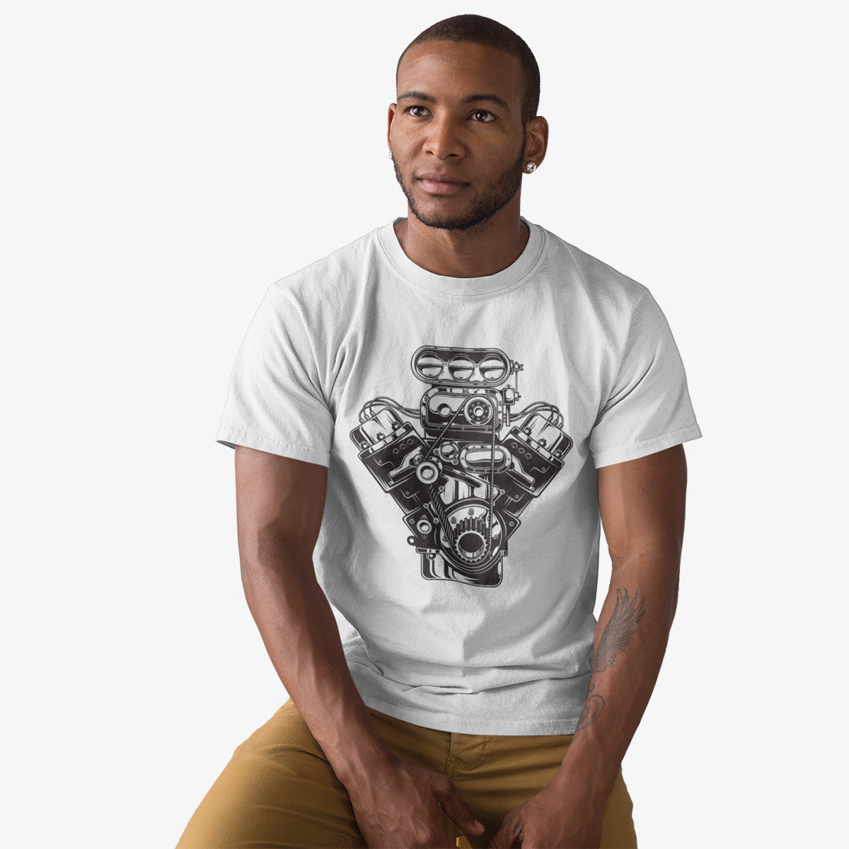 T-shirt American Muscle V8