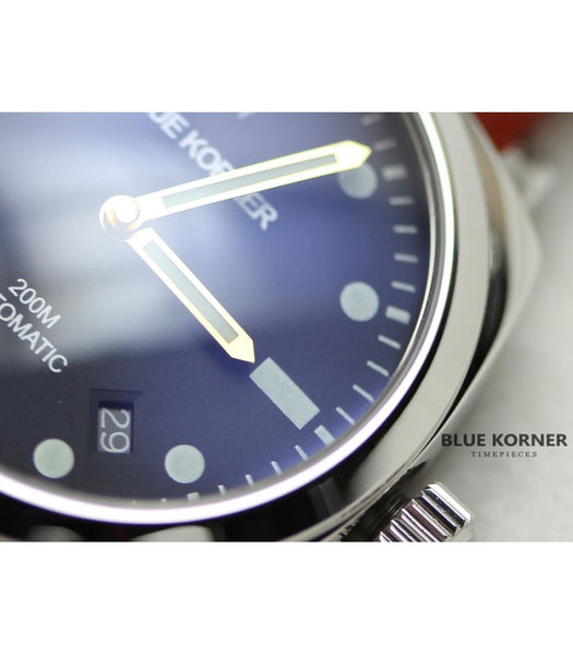Welcome to BLUEKORNER watches new homepage.