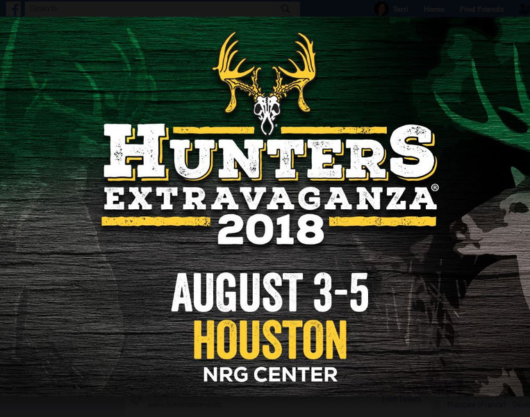It's on! The Hunters Extravaganza in Houston!