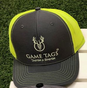 Game Tags Glow-in-the-Dark Embroidered Logo Richardson 112 Cap