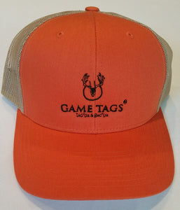 Game Tags™ Embroidered Logo Trucker Cap