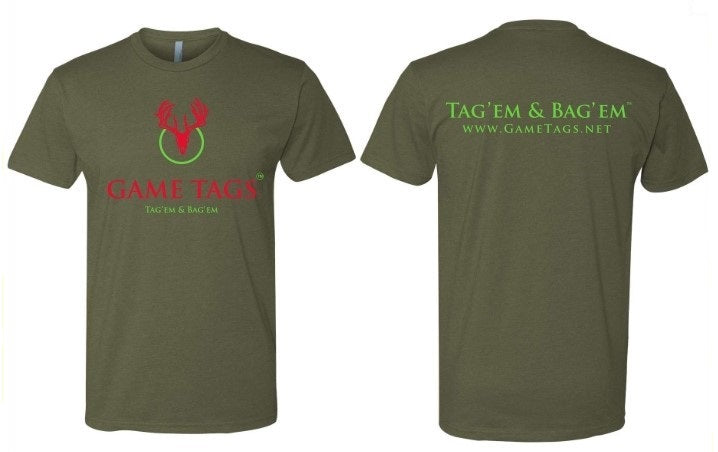 Game Tags Short Sleeve T-Shirt