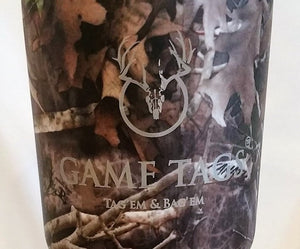 Game Tags RTIC Tumbler