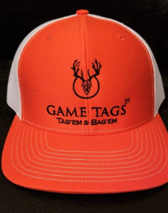 Game Tags Embroidered Logo Richardson 112 Caps