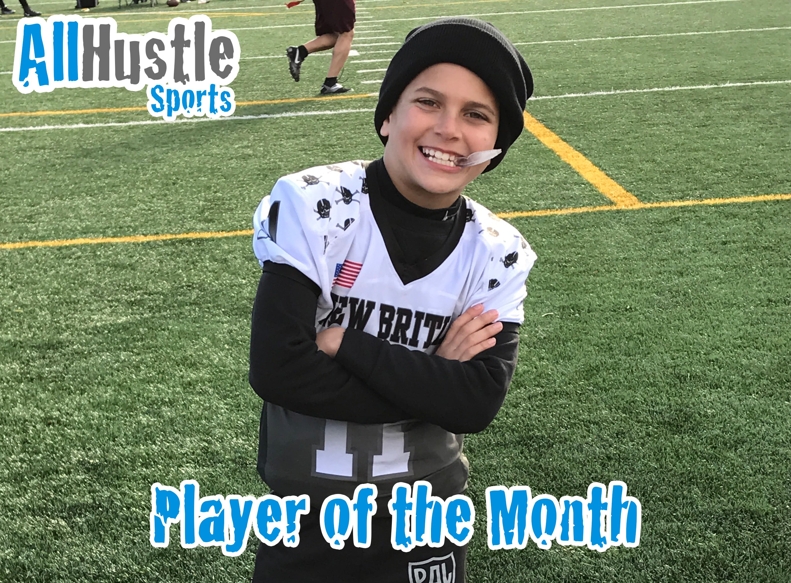 Anthony Fusco – All Hustle Player of the Month Nov 2017