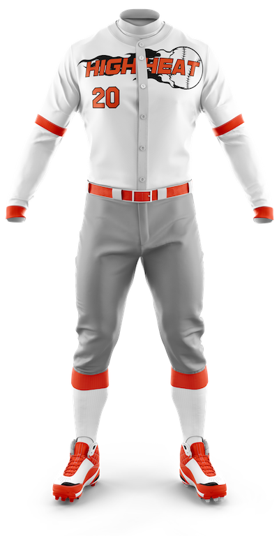 Custom Designed Sublimated Team Baseball Uniforms