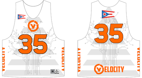 2-Ply Dye Sublimation Lacrosse Pinnie