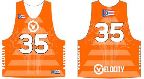 2-Ply Dye Sublimation Reversible Lacrosse Pinnie
