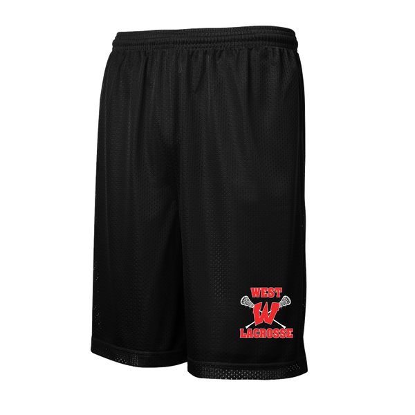 Lakota West Lacrosse Black Mesh Shorts