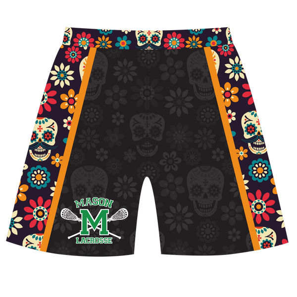 Mason Lacrosse Fall Theme Shorts with Pocket