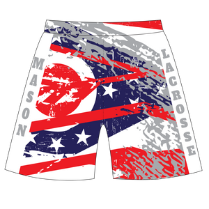 Mason Ohio Lacrosse Shorts with Pocket