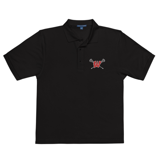 Lakota West Lacrosse Embroidered Logo Polo