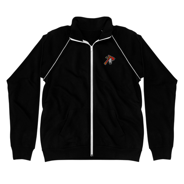 Lakota Tomahawks Piped Fleece Jacket