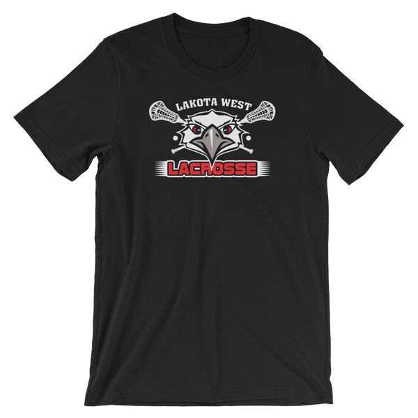 Lakota West Lacrosse Firebird Logo T-Shirt