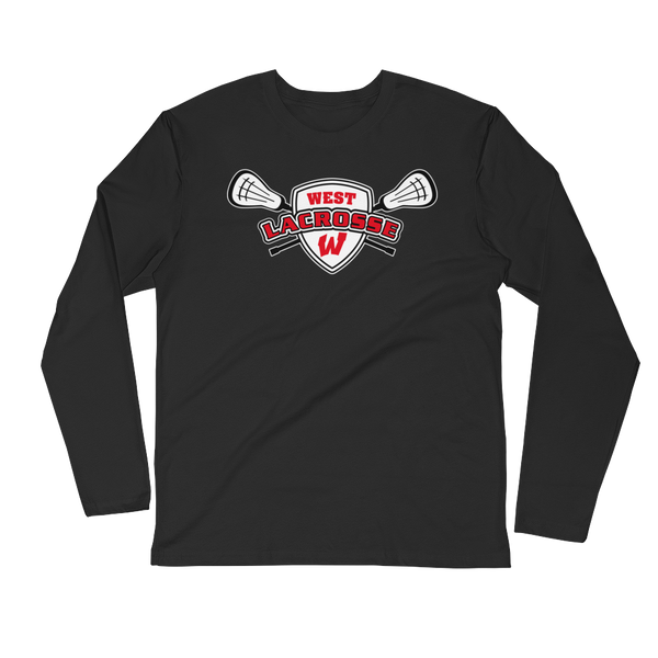Lakota West Lacrosse Long Sleeve Fitted Crew