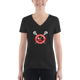 Women's Lakota Lacrosse Club V-Neck T-shirt