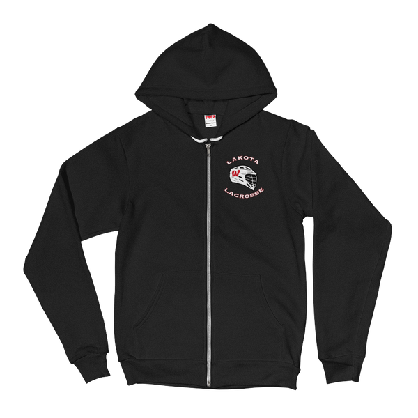 Lakota West Firebirds Lacrosse Full Zip Hoodie