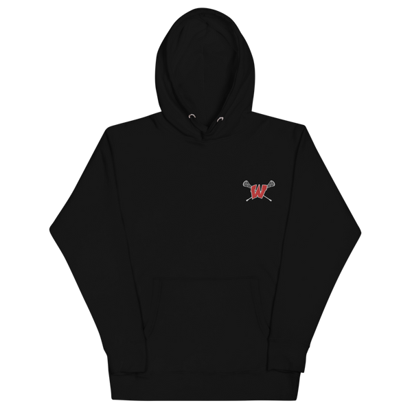 Lakota West Lacrosse Embroidered Hoodie