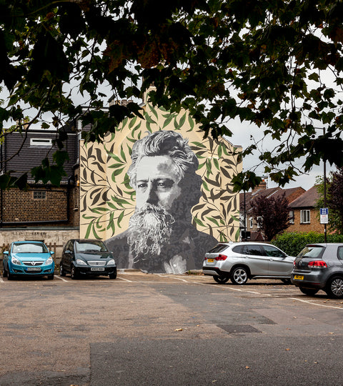 #LDF20 William Morris Murual London Design Festival