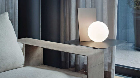 Sculptural Table Lighting Design