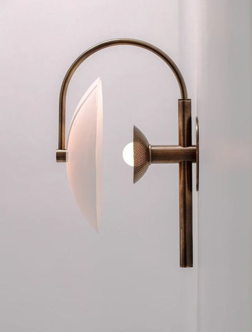 Aperture Sconce Wall Light Allied Maker
