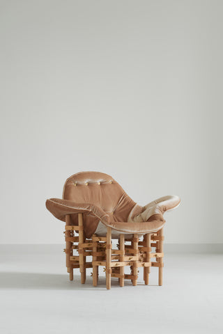 Envisioned Comfort Armchair by Vytautas Gečas & Marija Puipaitė from the the Lithuanian  Adorno London Design Festival 2020
