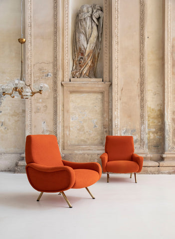 Volumnia_Marco Zanuso_Iconis Lady Armchair, Nomade Circle Design Disrupters