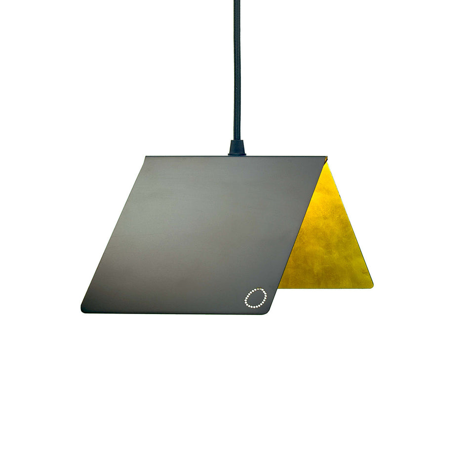 Papilion pendant lights by Bright Potato from Anna Paganelli in pink, white, black, green, blue and gold