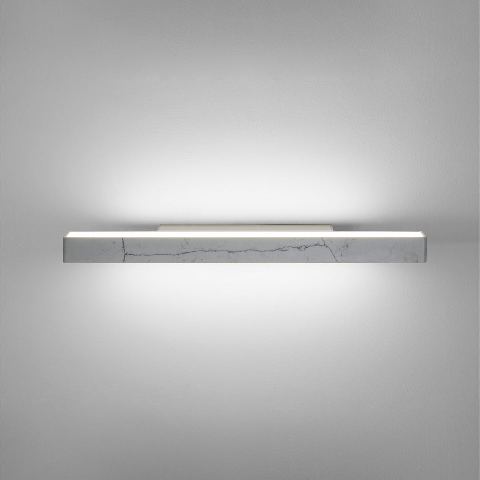 ucts   Dalia by Ledevò - Carrara Marble LED Strip Wall Light