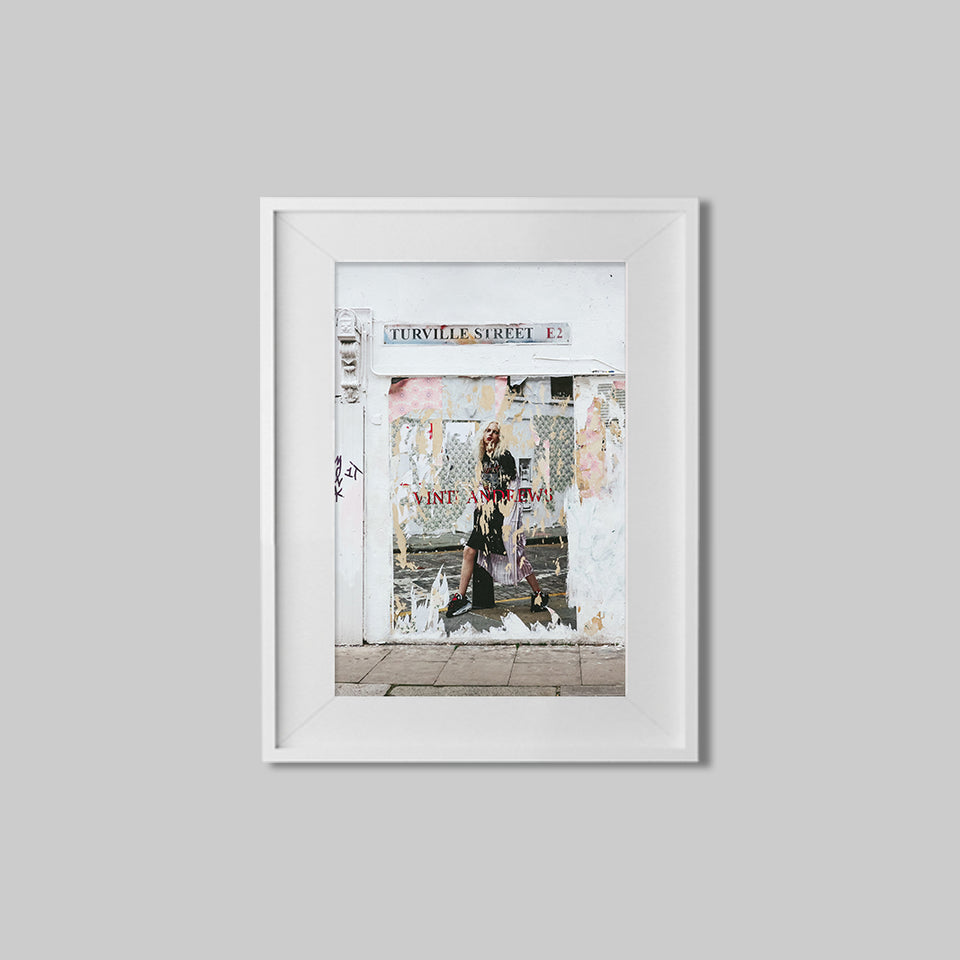 Turville Street, Shoreditch, East London I Vertical Print