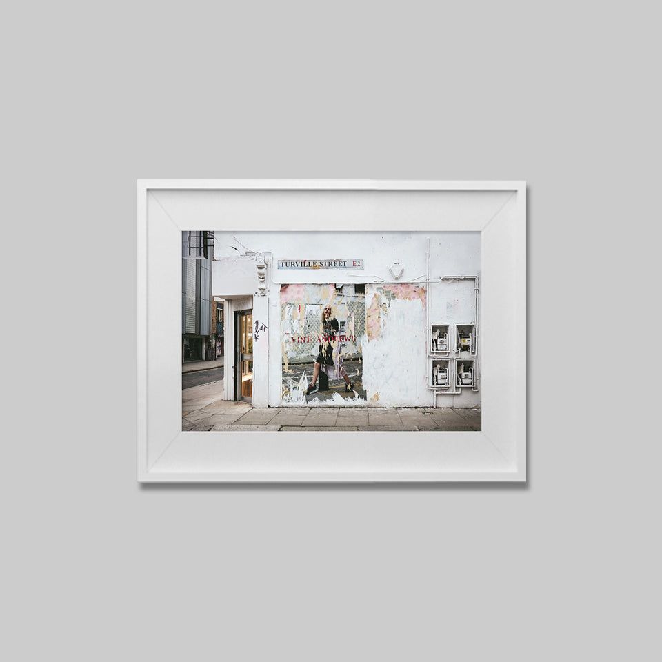 Turville Street, Shoreditch, East London I Horizontal Print